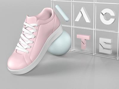 shoes 3d 3d abstract 3d modeling 3d art 3d