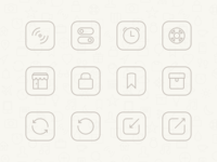 Momento Settings Icons