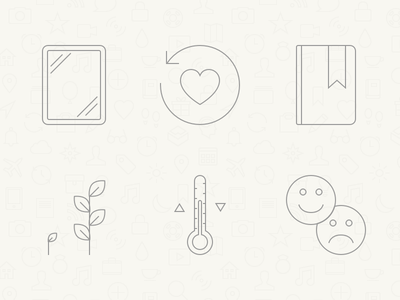 Momento — Benefits of Journaling relive development reflect symptoms mood icons momento journal journaling benefits