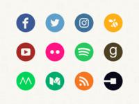 Momento Feed Icons