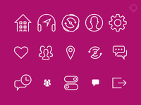 weeSPIN icons