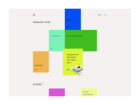 New portfolio layout
