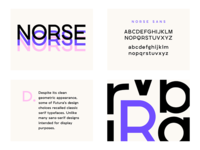 Norse Sans - New typeface design (WIP)