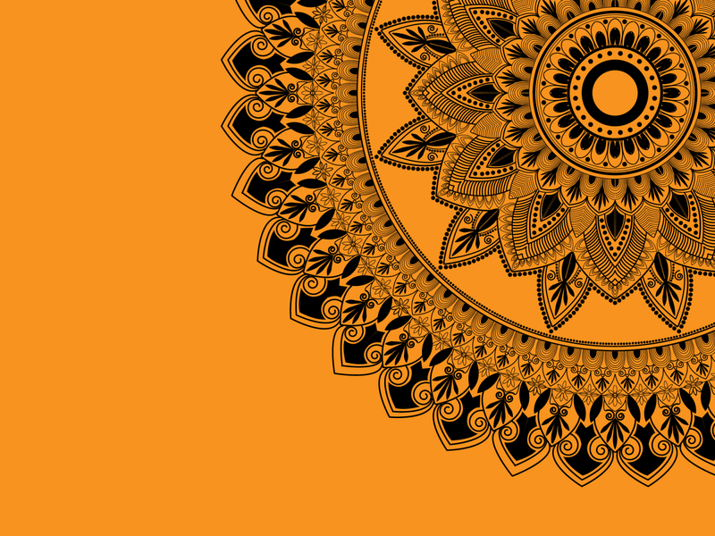 Creative Mandala Background Design Template