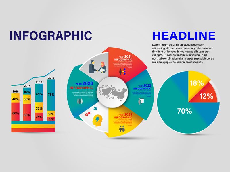 Creative Info graphic Design  tempalte