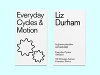 everyday cycles business card