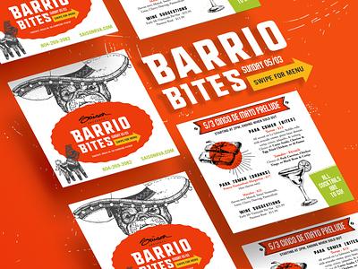 Saison Barriobites Cinco De Mayo Special branding design social media design social social media branding design