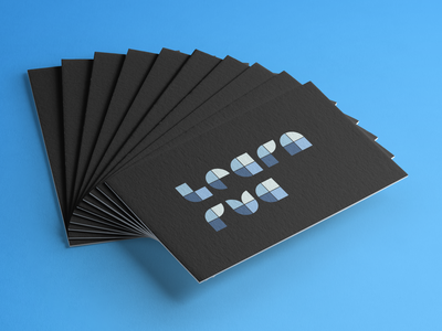 Logo & Business Card Design for Local Nonprofit businesscard geometric vector branding design logo branding design