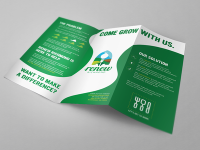 Local Food Coop Brochure print design brochure design web print branding design branding design