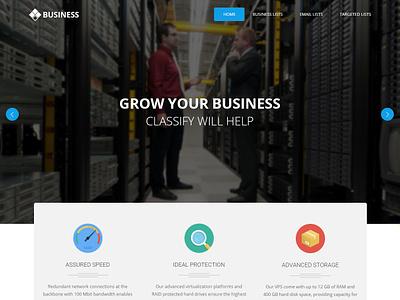 Email Database Website design responsive graphics bootstrap frontend design