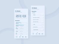 Planning App | Neumorphic Exploration