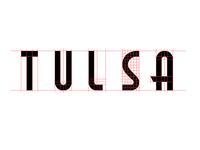 Tulsa Lettering