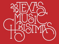 2019 Texas Music Christmas Holiday Parade Logo