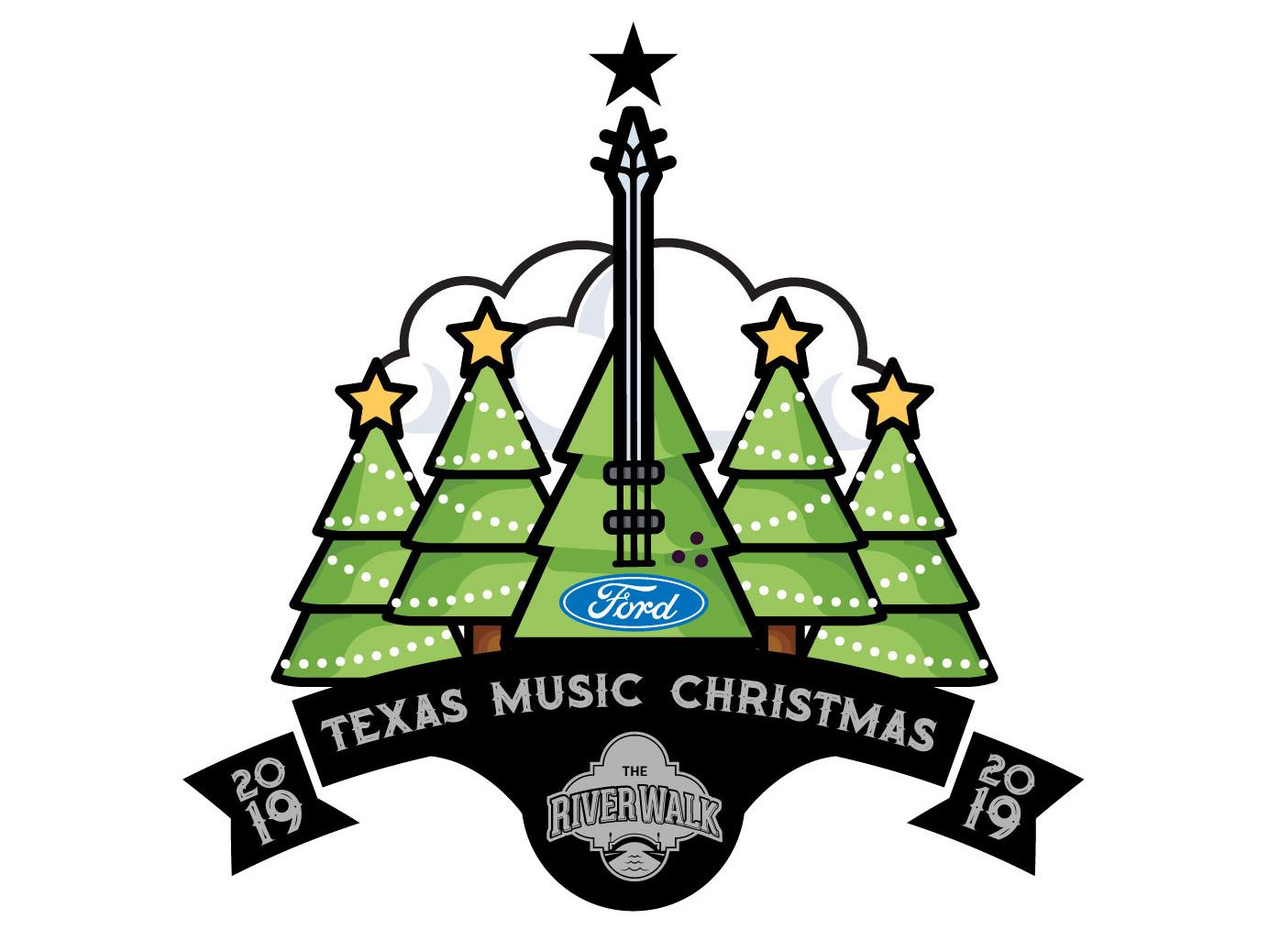 2019 Christmas Music.2019 Texas Music Christmas Holiday Parade Logo By Eleazar