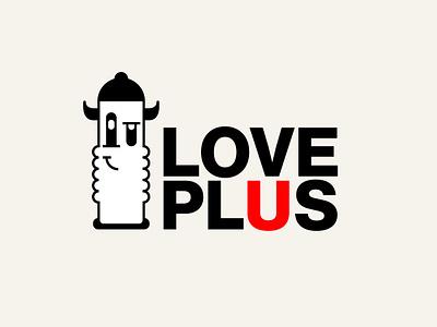 Love Plus vector design eleazar hernandez logo san antonio