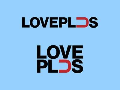 Love Plus typography vector design eleazar hernandez san antonio logo