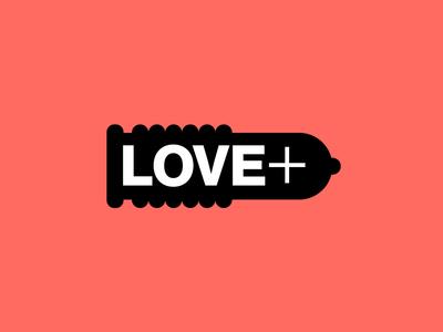 Love Plus branding vector typography design eleazar hernandez san antonio logo