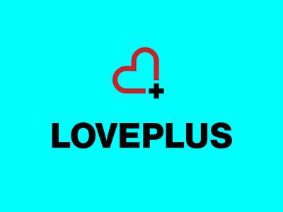 Love Plus vector typography design eleazar hernandez san antonio logo