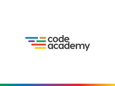 Logo Design Code Academy logotype branding logo code academy code