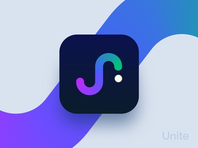 Unite App Icon Design logo ios app icon unite