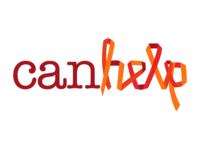 canhelp logo logo cancer ribbon