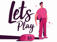 Lets Play dribbble