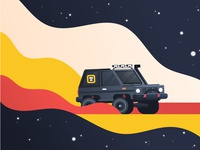 off road Nissan Patrol