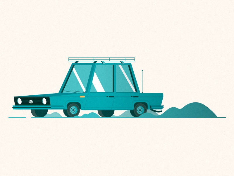 Gonna pick you up internet taxi cab snapp illustration taxi car