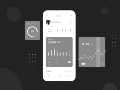 Test version of financial application