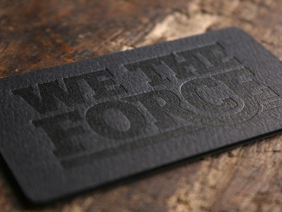 We The Force Business Cards