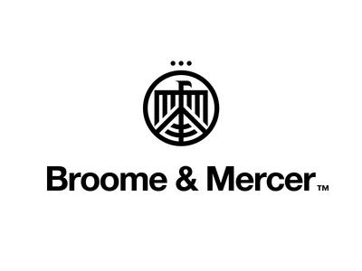 Broome & Mercer Reject broome mercer eagle modernist helvetica icon mark crown