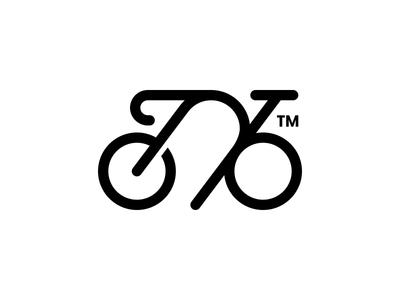 Bike Lock bike bicycle lock smart mark logo icon branding