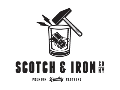 S&I scotch iron hammer logo