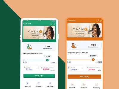 Loancloud App UI Design mobile app design app ui design app design banner design graphic design ui designs ui design design ux ui