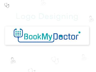 Doctor Appointment Booking Logo Design icon illustrator graphic design ui design logo app branding ux ui design