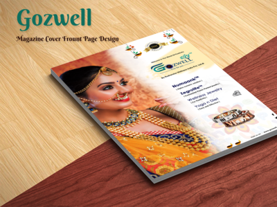 Magazine Cover Front Page Design for Gozwell