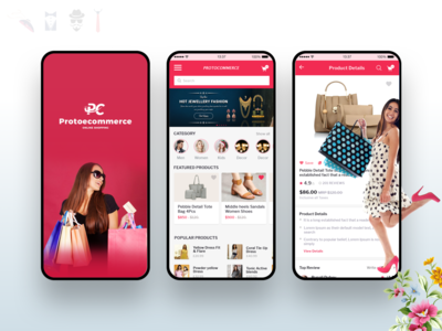 Mobile UI Design for eCommerce Application