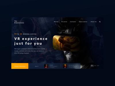 The Dimensions VR/3D platform slider