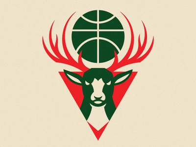 Super Design Bowl – Milwaukee Bucks milwaukee super design bowl sports logo sports design nba bucks logo identity illustration