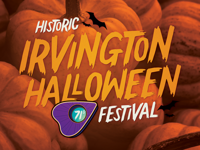 2017 Irvington Halloween Festival Logo by Ross Shafer - Dribbble