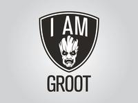 Brooklyn Nets/I Am Groot Marvel NBA Logo Mashup Project