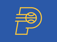 Simplified Pacers Logo