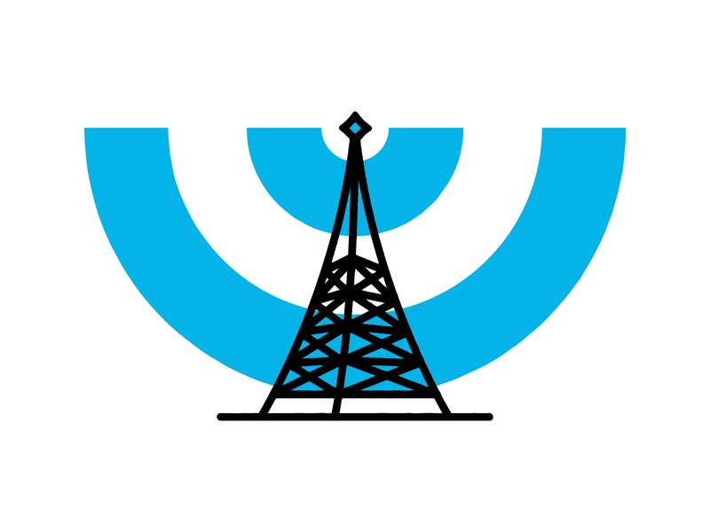 Unused Clothing Company Logo signal adobe illustrator icon idenity logo design logotype