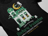 2019 Historic Irvington Halloween Festival T-Shirt