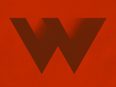 Weekly Warm-Up - W w letter lettering type typography