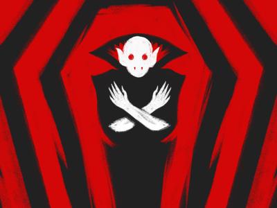 Vampire #mabsdrawlloweenclub
