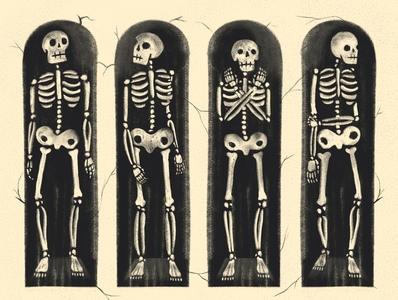 Catacombs #mabsdrawlloweenclub