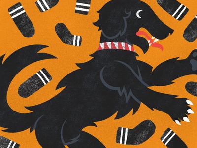 Black Dog - #mabsdrawllloweenclub