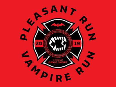 Unused Pleasant Run Vampire Run Logo