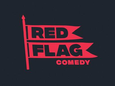 Unused Red Flag Logo